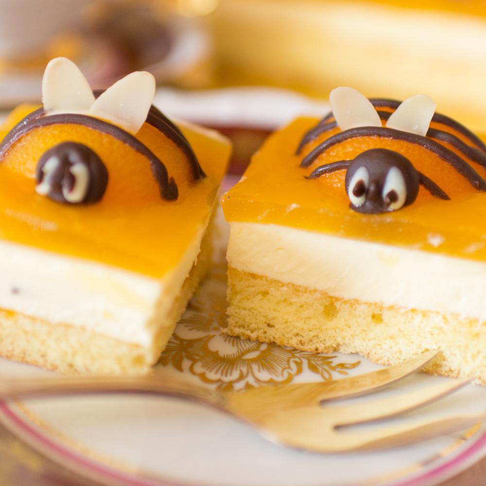 Osterkuchen Anleitung Bienenkuchen Aprikosen Schmand Kuchen