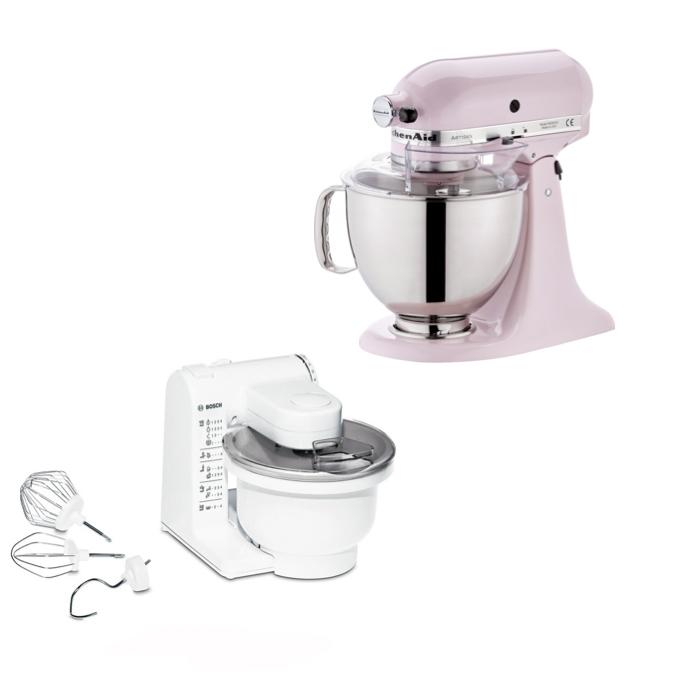 """Küchenmaschinen Vergleich: """"KitchenAid"""" und """"Bosch ..."""