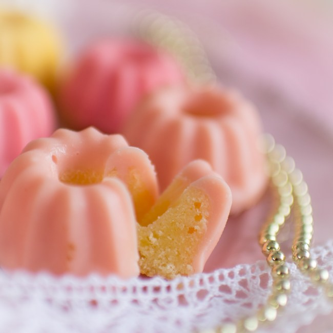 Rezept für Mini-Gugl, Zitronenkuchen, Mini-Küchlein, Bundtcake, Mini Gugelhupf