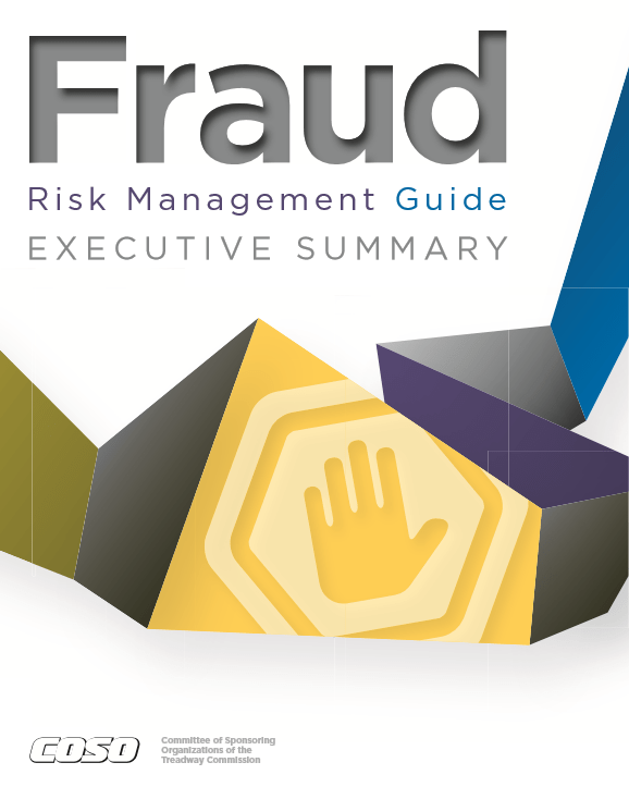 COSO Fraud Risk Management Guide (September 2016)