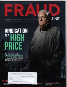 Fraud Magazine - July-Aug 2015 - cover
