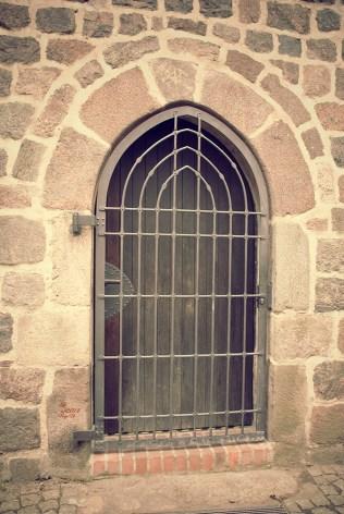Ein Tor an unserer Kirche