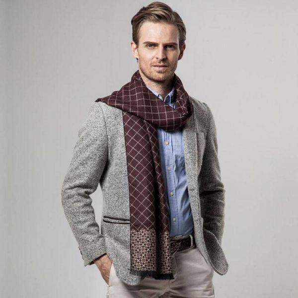 Как правильно завязать шарф мужчине