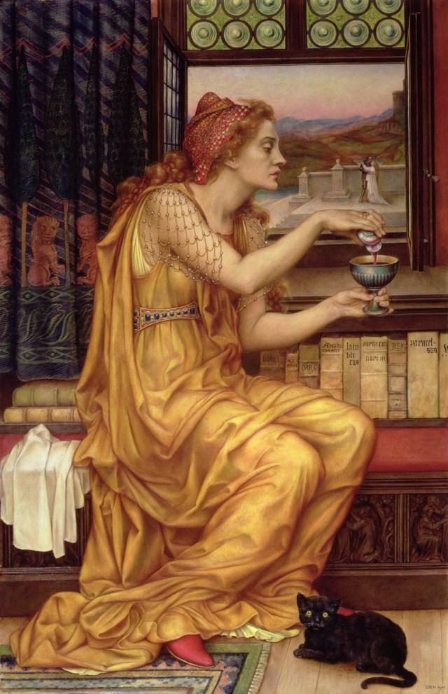 Evelyn de Morgan: The Love Potion