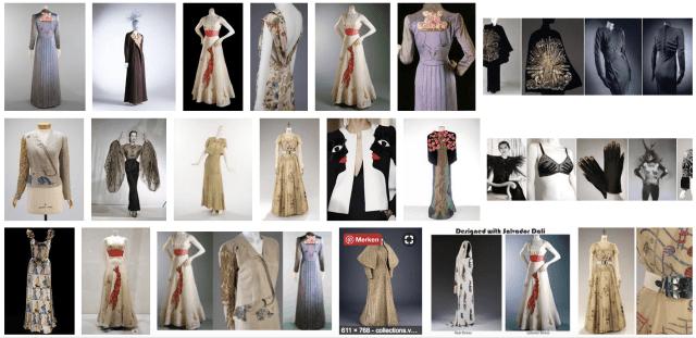 Elsa Schiaparelli Designs Google-Ergebnisse