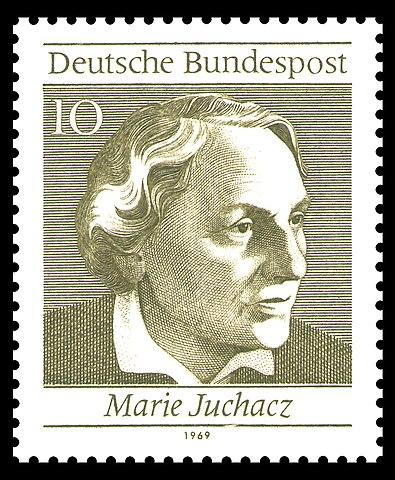 Briefmarke 10 Pfennig 1969 Marie Juchacz