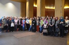 Gruppenbild vom Begegnungstag 2014 vor der Kapelle