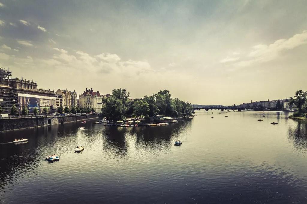 Prag Moldau