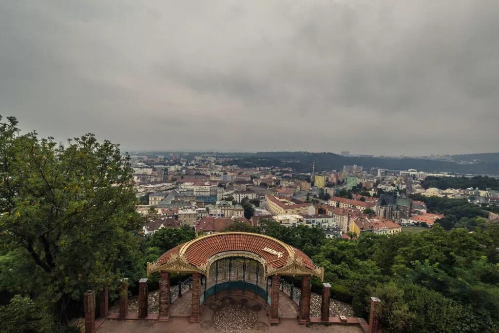 Blick auf Brno