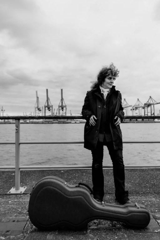 Die Musikerin Anabel Balcana in Neumühlen