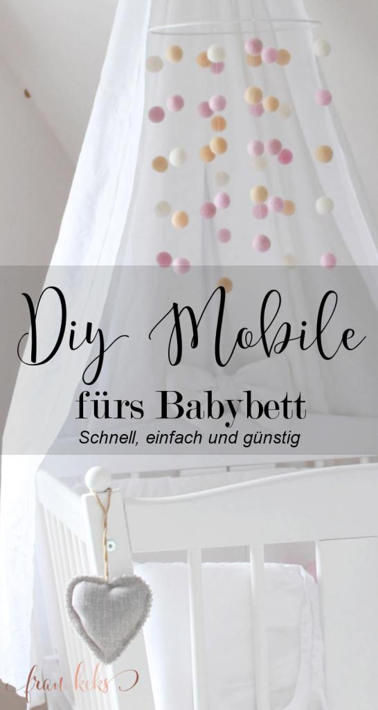 diy mobile f rs babybett. Black Bedroom Furniture Sets. Home Design Ideas