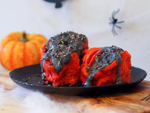 Halloween Rezept Zimtschnecken