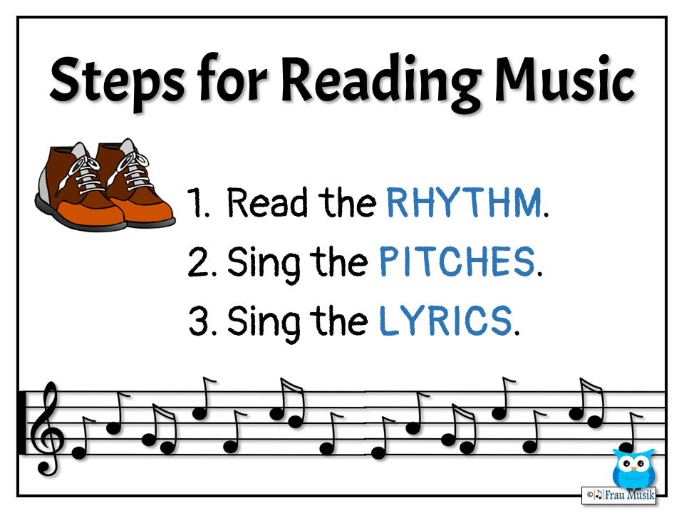 3 Steps for Reading Music | Elementary Music Classroom