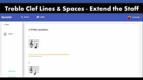 Treble Clef Note Name Game
