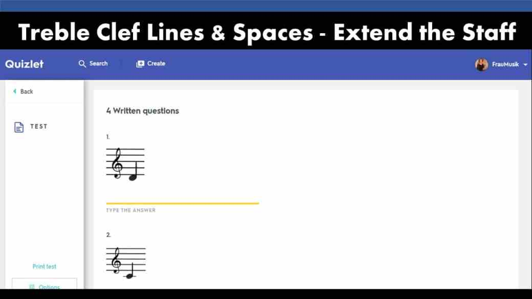 FREE Treble Clef Note Names Games   Elementary Music Classroom or Online Distance Learning