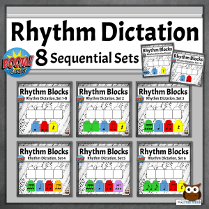 Online Music Activities for Elementary Music Classroom or Distance Learning | Sequential Bundle