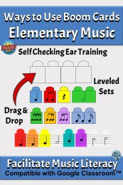 Ways to Use Boom Cards in Elementary Music, Rhythm & Melody Blocks