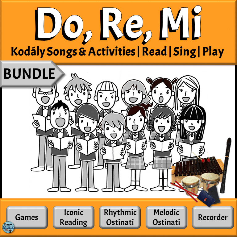 Sequential Lessons for Developing Music Literacy in the Elementary Music Classroom | Do Re Mi