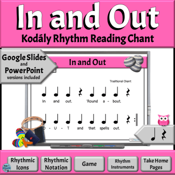 In & Out Music Reading Game