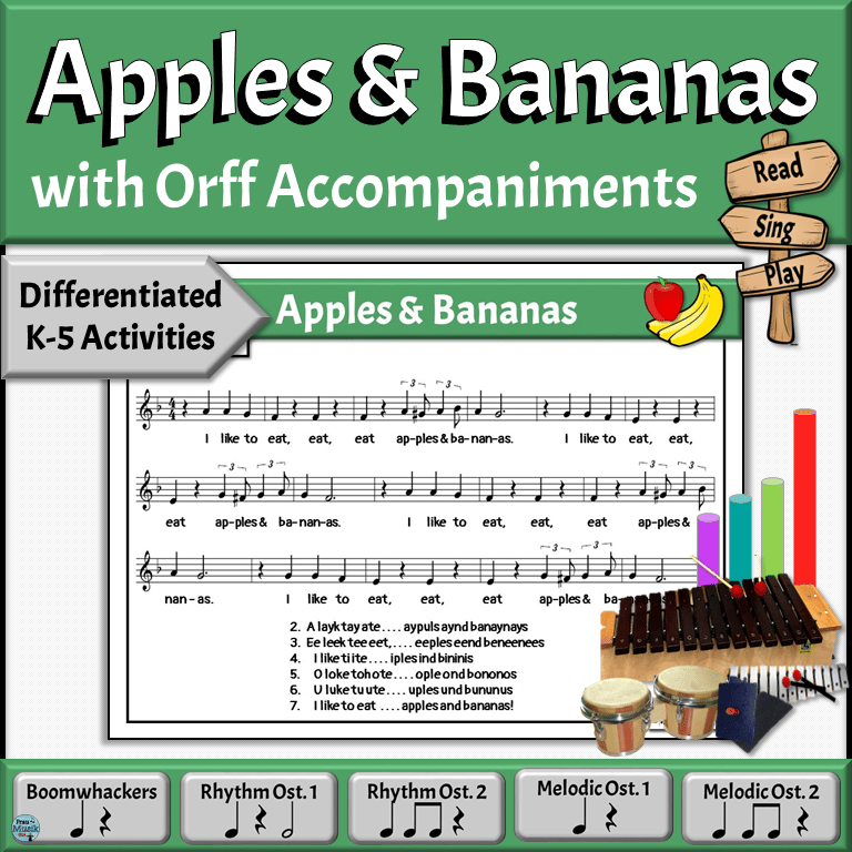 Silly Camp Song with Differentiated Orff Arrangement for the Elementary Music Classroom
