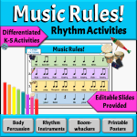 Learning Music Rules with Rhythm Activities