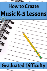 How to Create Music K-5 Elementary Music Lessons