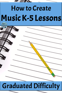How to Create Music K-5 Lessons