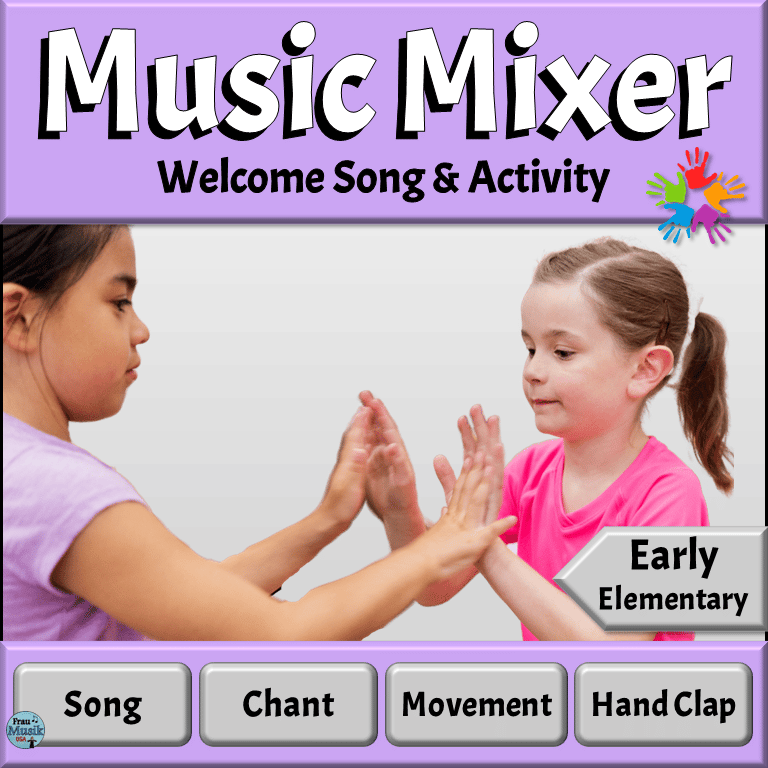 Back to School Music Activities - Song and Game for Elementary Music Classroom | Early Elementary Grades