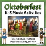 Oktoberfest Lesson with Picture of Neuschwanstein Castle