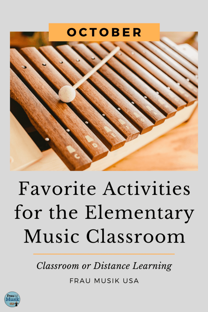 Elementary Music Class Activities for Classroom or Distance Learning | October Favorites