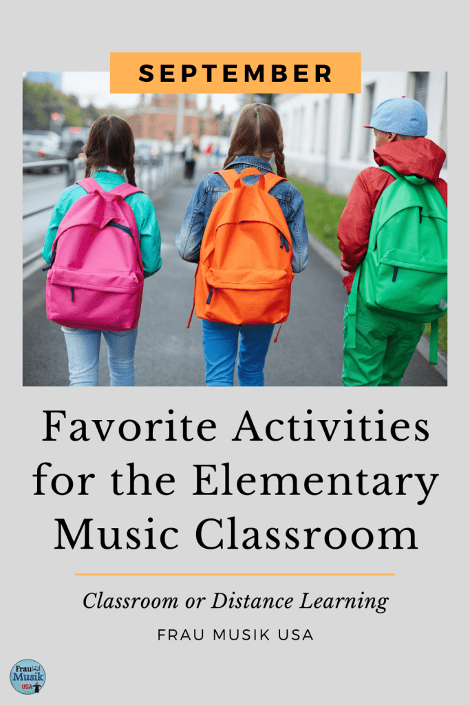 Elementary Music Class Activities for Classroom or Distance Learning | September Favorites