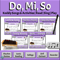 Kodály Songs & Activities for Developing Music Literacy in the Elementary Music Classroom | Do Mi So