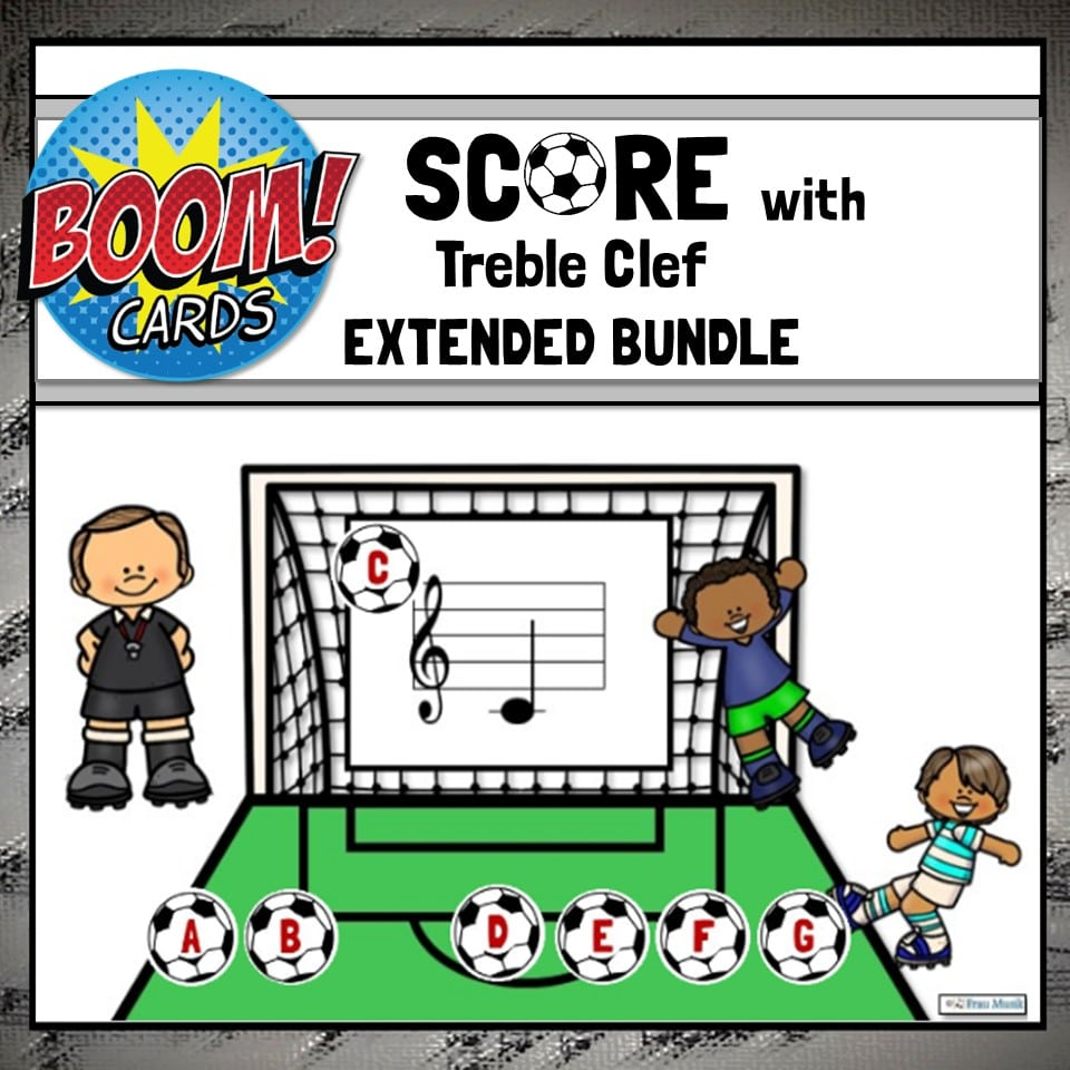 Treble Clef Boom Cards - EXTENDED Mini-Bundle