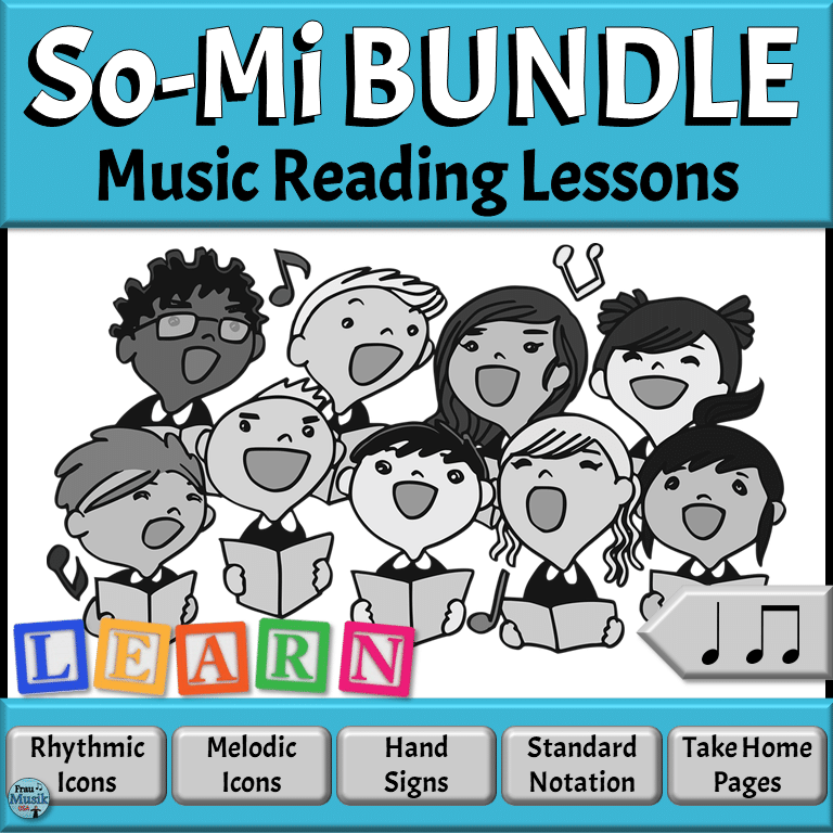 Kodály So Mi Music Reading Activities for Elementary Music | Songs, Movement, Instruments