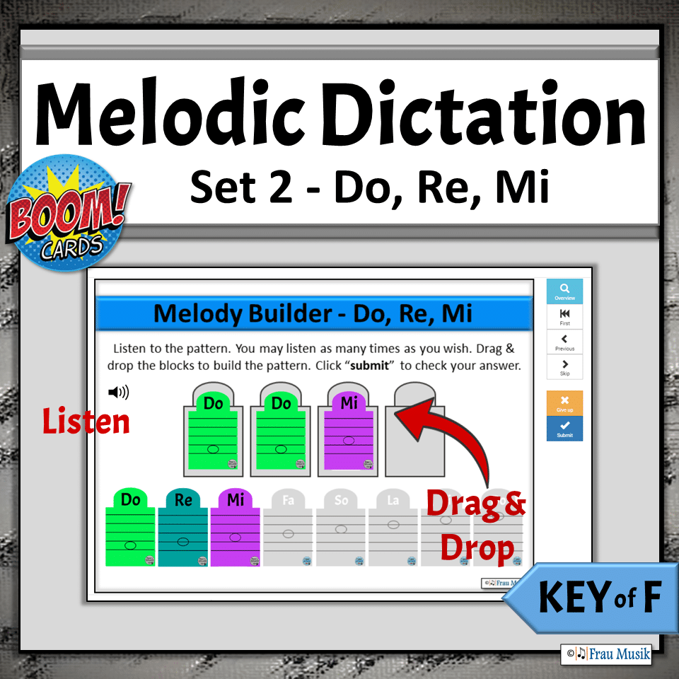 Online No-Prep Activities for Elementary Music Classroom or Distance Learning | Boom Cards Do Re Mi
