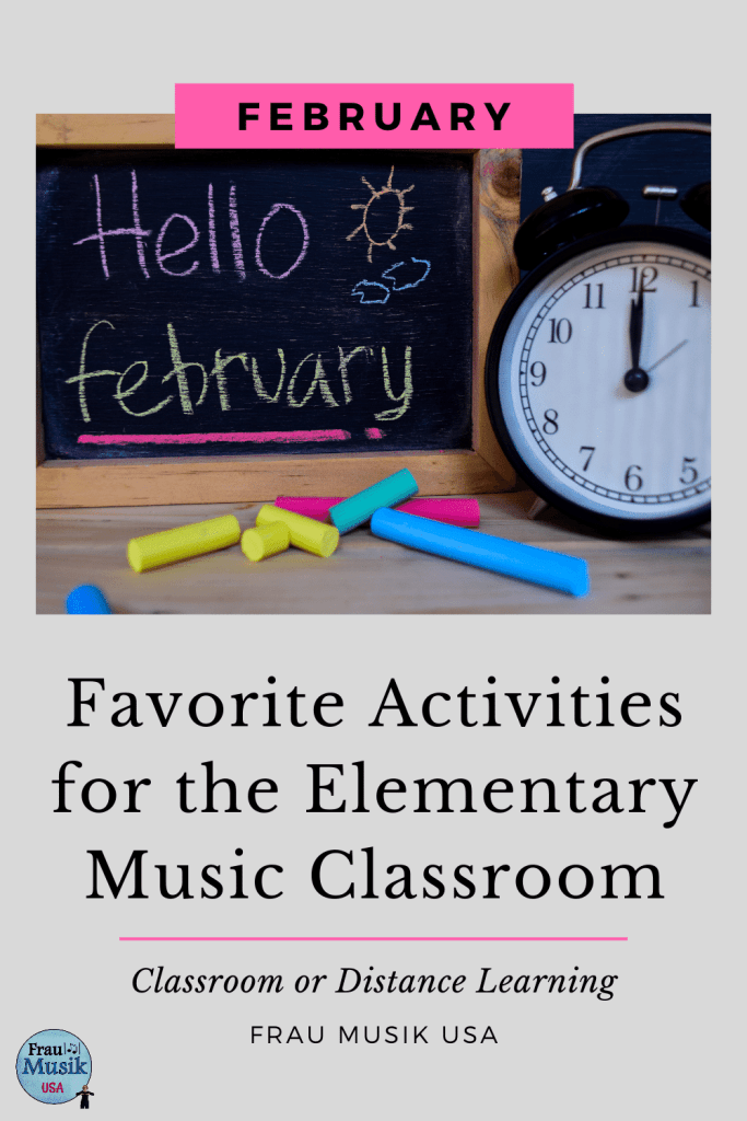 Ideas, Activities, and Lessons for the Elementary Music Classroom | February Favorites