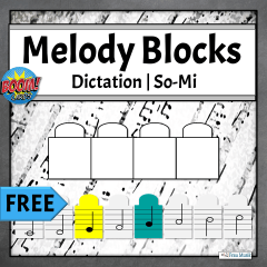FREE Interactive Melodic Dictation Boom Task Cards for Elementary Music Online Learning