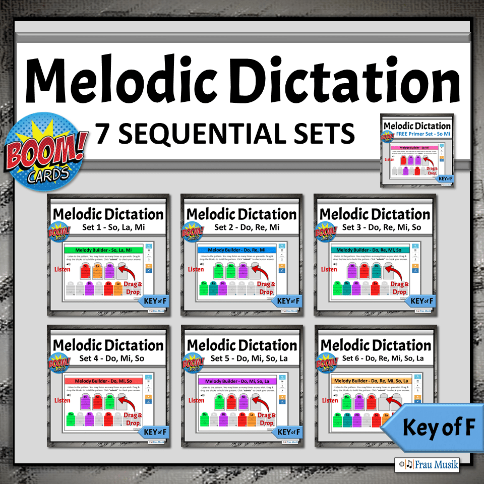 Online Music Literacy Activities for Elementary Music Classroom or Distance Learning | Boom Cards