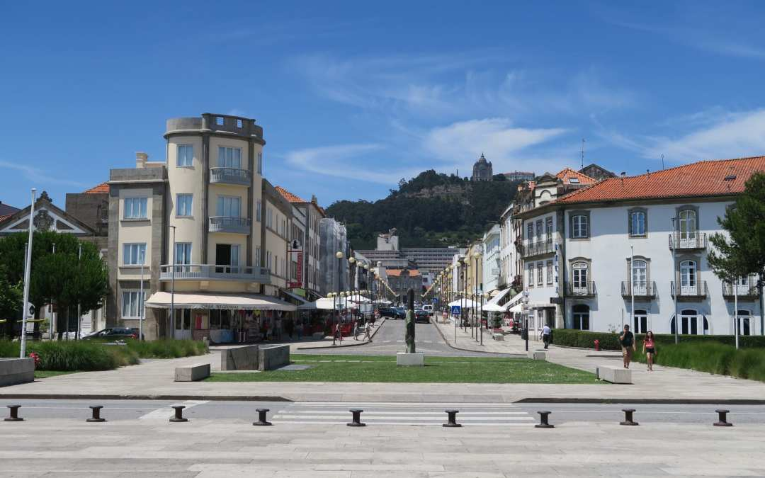 A sunny day in Viana do Castelo, Portugal