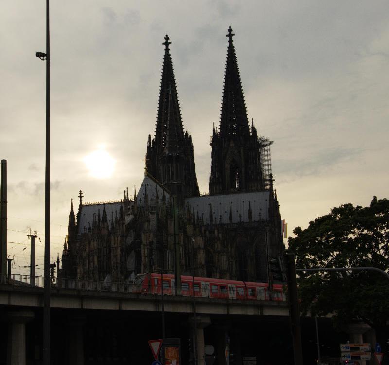 Toller Ausblick auf den Kölner Dom