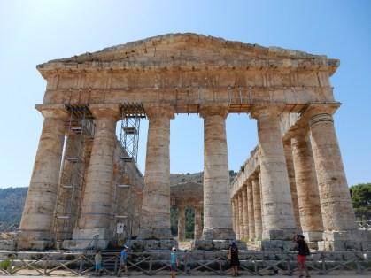 Elymer Tempel (400 v. Chr.) in Segesta