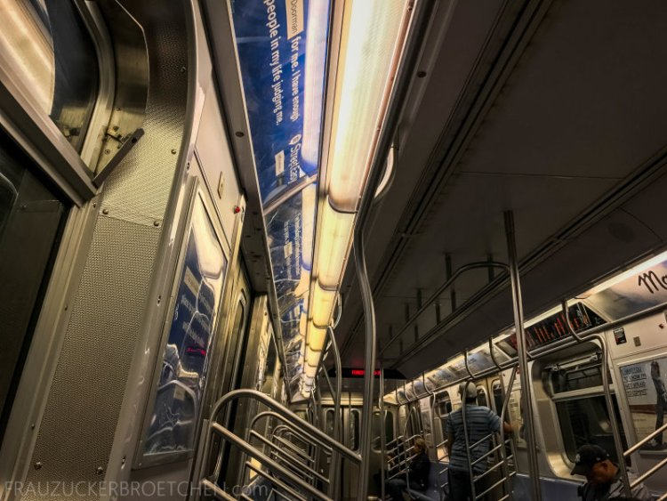 New Yorker Metro durch meine Linse13_ Herbst 2017