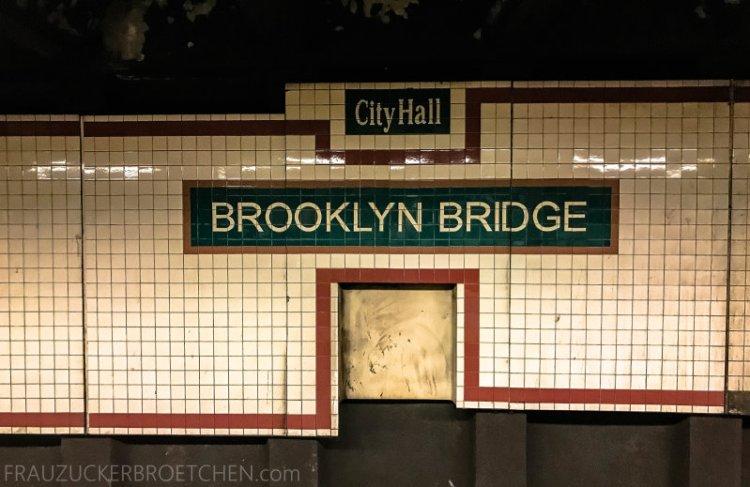 New Yorker Metro durch meine Linse26_ Herbst 2017
