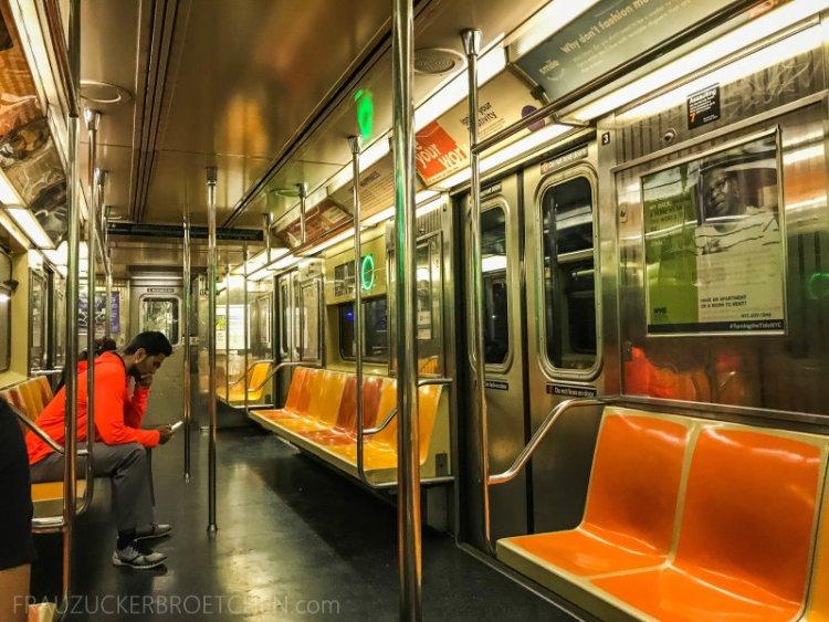 New Yorker Metro durch meine Linse27_ Herbst 2017