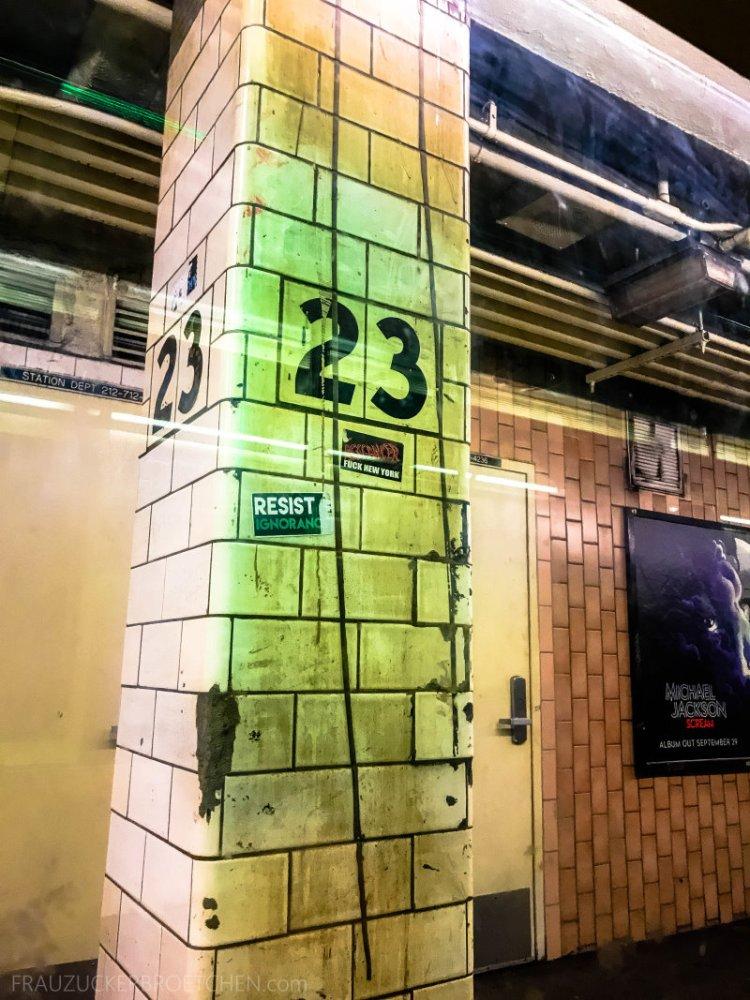 New Yorker Metro durch meine Linse28_ Herbst 2017