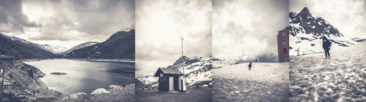 Am Julierpass Schweiz