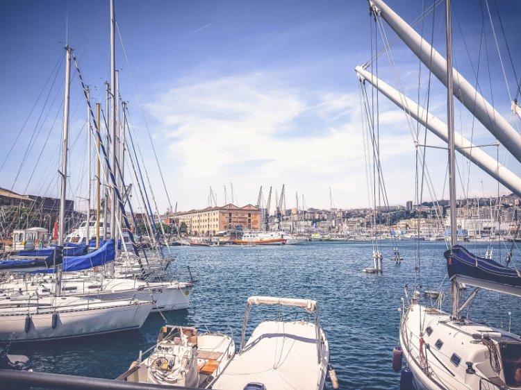 Genua Hafen 4