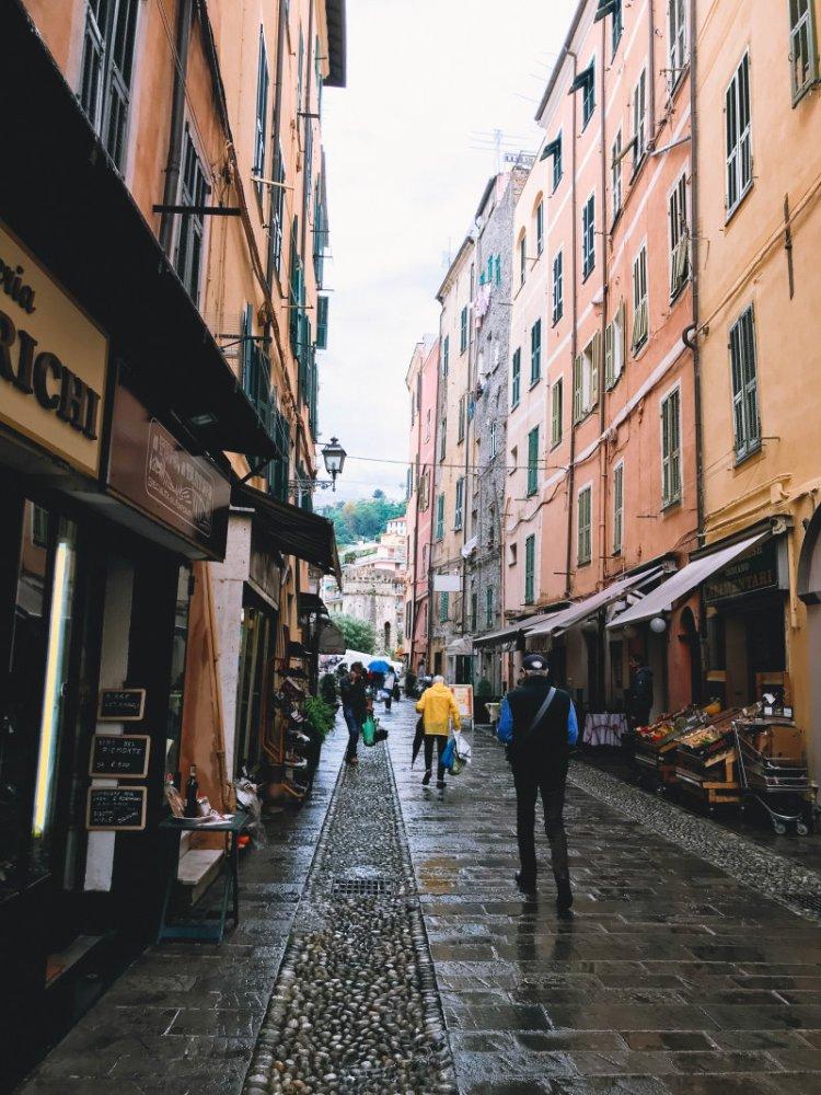 Der erste Tag in Sanremo Italien 1