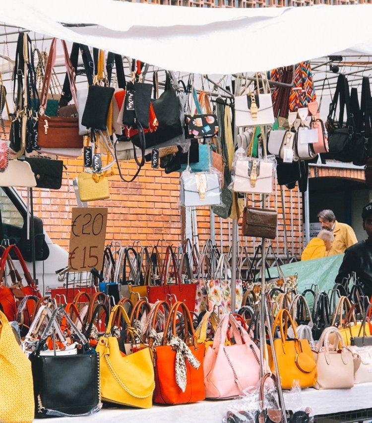 Wochenmarkt in Sanremo / Italien