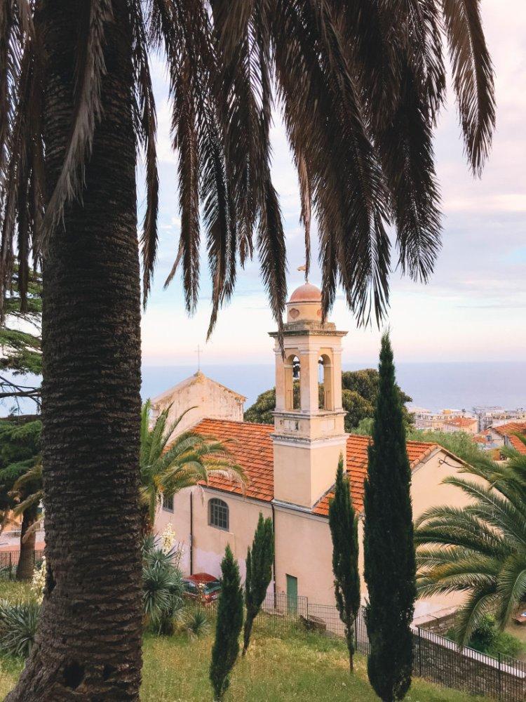 Über den Dächern von Sanremo